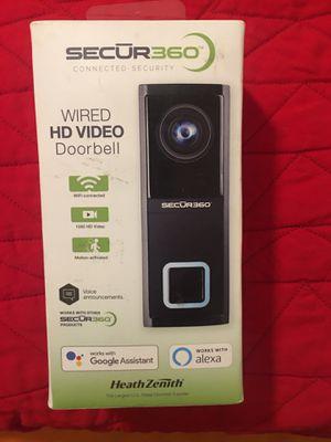 SECŪR360 doorbell camera for Sale in Las Vegas, NV