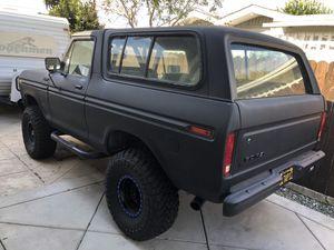 1978 FORD BRONCO, bronco ranger XLT custom for Sale in Anaheim, CA