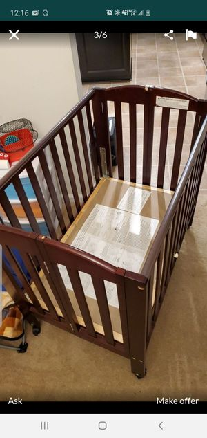 Foldable Baby or Daycare Crib for Sale in Hampton, VA