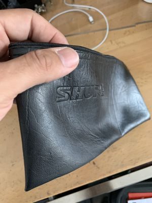 Shure Microphone bag for Sale in Naples, FL