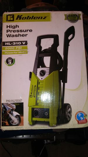 Pressure Washer /Koblenz for Sale in Washington, DC