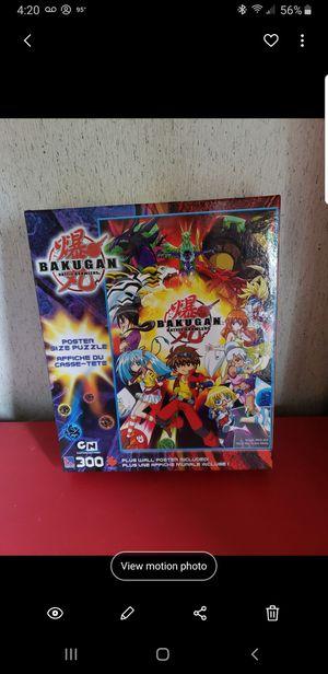 Bakugan 300 piece puzzle for Sale in Rustburg, VA