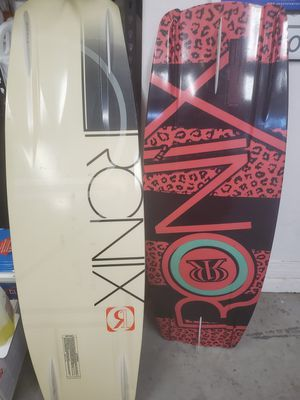 (2) Ronix Wakeboarda for Sale in Sun City, AZ