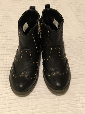 Black Girls Boots Size 13 for Sale in Cedar Park, TX