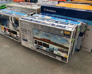 "Tv sale liquidation!!! Brand new!! Open box !! From 24"" to 75"" 6H for Sale in Dallas, TX"