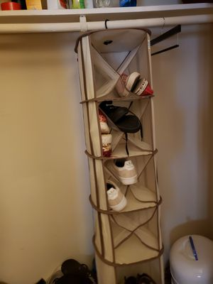 Hanging shoe closet organizer for Sale in Raleigh, NC