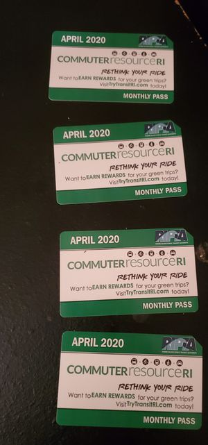 April Bus passes 40 each.. for Sale in Providence, RI