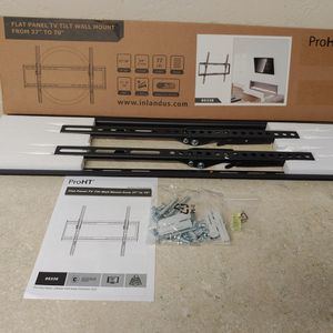 """37"""" - 70"""" Tv Wall Mount For $30 FIRM PRICE for Sale in Houston, TX"""