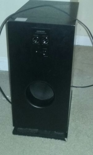 ONKYO POWERED SUBWOOFER for Sale in FAIRMOUNT HGT, MD