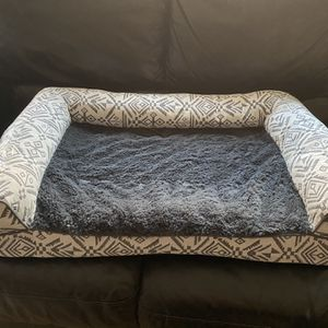 Furhaven Pet Dog Bed - Orthopedic Plush Faux Fur and DÃcor Comfy Couch Jumbo for Sale in El Monte, CA