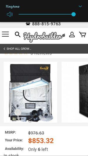 T5 light 6x4 grow tent for Sale in Salt Lake City, UT