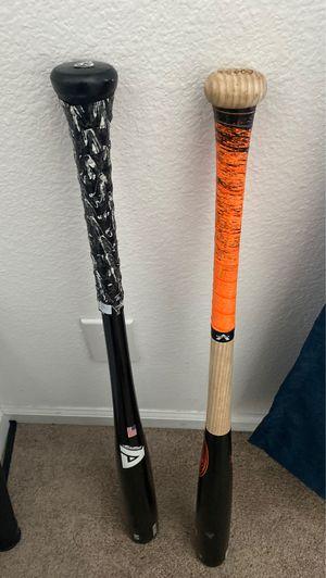 Wooden baseball bats 33in -3 for Sale in Lake Wales, FL