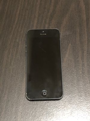 iPhone 5 (Factory Unlocked) WORKS PERFECT! for Sale in Frisco, TX