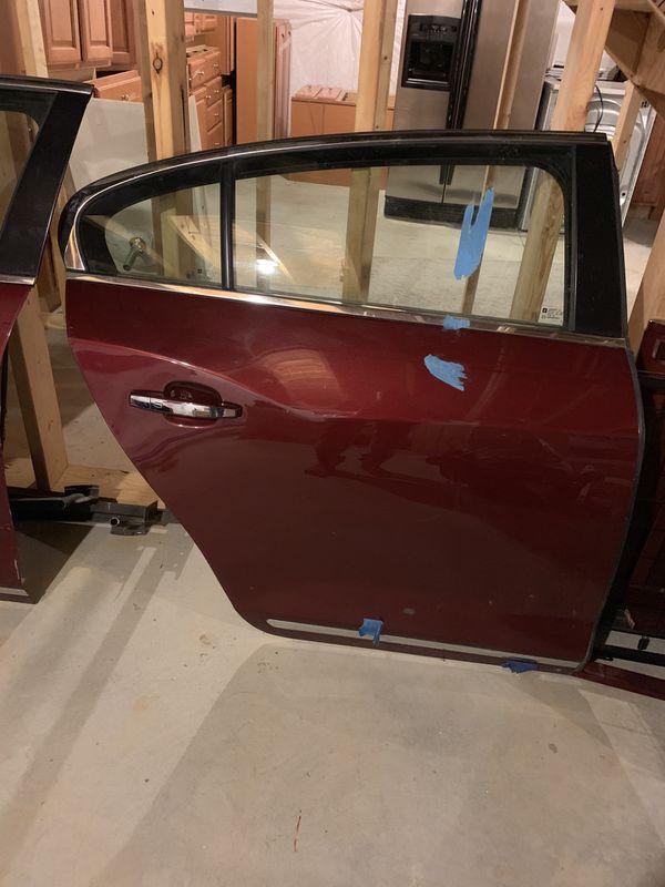 Buick LaCrosse rear door