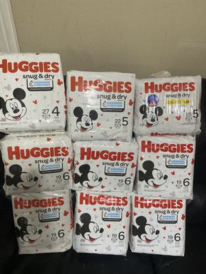Huggies for Sale in Houston, TX
