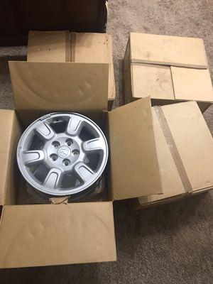 """4Rims 17"""" OEM HONDA silver New in box for Sale in Silver Spring, MD"""