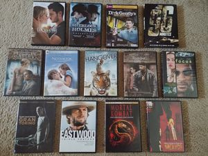 13 DVD bundle (18 movies) for Sale in Seattle, WA