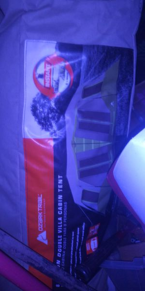 Ozark cabin tent 16×16 feet wide two cabins for Sale in Montclair, CA
