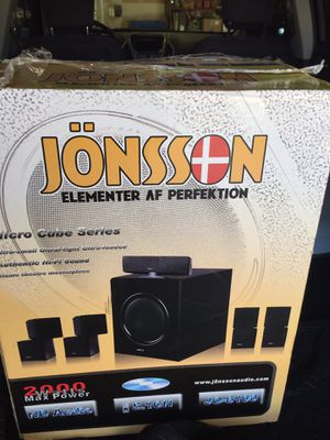 Jonsson 2000 Watts Home Theatre for Sale in Las Vegas, NV