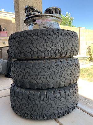 BFG AT's 265/75/R16 - 8 Lug Chevy HD for Sale in Mesa, AZ