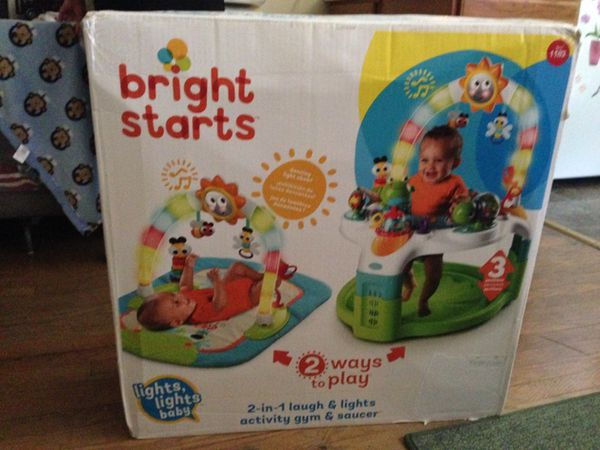 Baby walk chair many function use but like new in original box