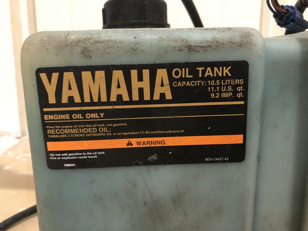Yamaha 2 stroke oil tank and pump for Sale in Hollywood, FL - OfferUp