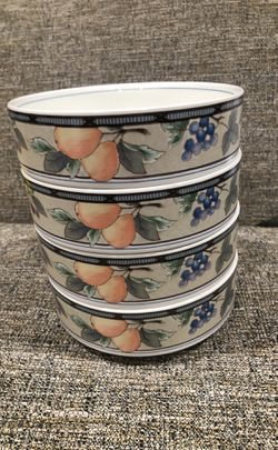 Set of 4 Mikasa Bowls for Sale in Alexandria,  VA