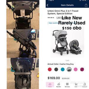 Urbini 3-1 Stroller w/ Car seat for Sale in Columbus, GA