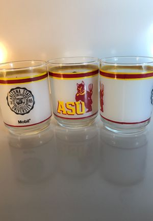 Three (3) ASU Glasses for Sale in Peoria, AZ