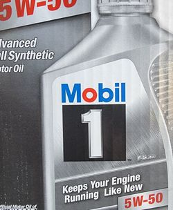 Mobil 1 Mobil Super All Viscosity for Sale in Lynwood,  CA