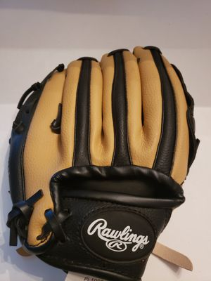 9 inch kids Rawling left handed players series basket weave baseball glove: like new for Sale in Plainville, CT
