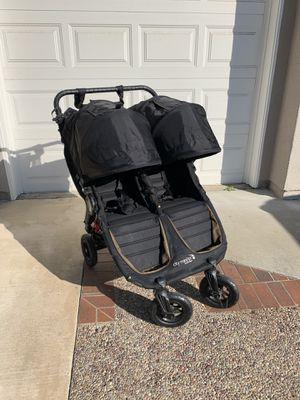 Double Stroller Citi Mini GT black for Sale in Laguna Hills, CA