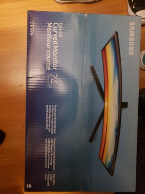 Samsung curved 24 inch monitor brand new in box, unopened for Sale in Pompano Beach, FL