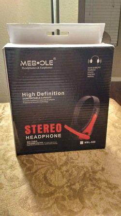 MEBOLE Stereo Headphone High Definition Headphones! for Sale in Austin,  TX