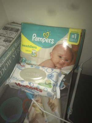 Pampers and wipes for Sale in Indianapolis, IN