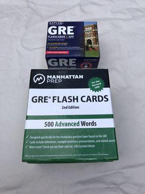 1000 Vocab flashcards GRE/SAT for Sale in Palos Park, IL