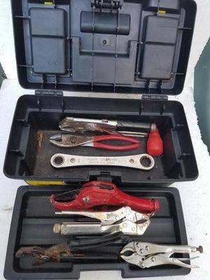 SMALL BOX WITH TOOLS SHOWN $20. for Sale in Glen Allen, VA
