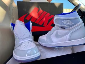 jordan 1 high white zoom racer for Sale in Arlington, VA