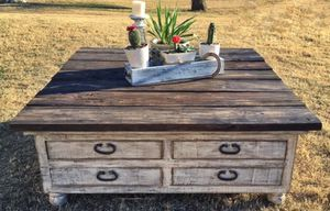 Barn Wood Coffee Table for Sale in Nashville, TN