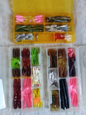 Fishing lure boxes for Sale in Los Angeles, CA