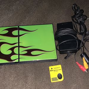 PS2 slim console for Sale in Irving, TX
