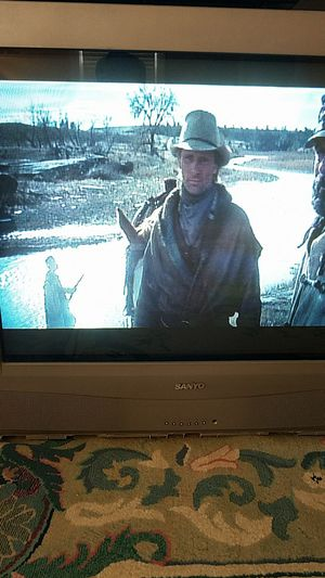 Sanyo old tube flat screen tv 36 for Sale in Alexandria, VA