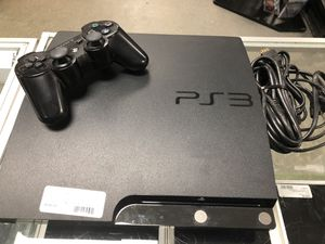 PS3 320gb with controller and cables #4316-13 for Sale in Revere, MA