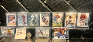 Hall of famers rookie cards Ray Lewis, Ed Reed, Lawrence Taylor, Sean Taylor for Sale in Bakersfield, CA
