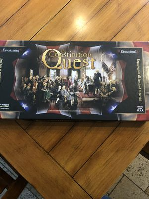 Quest constitution game for Sale in Buena Park, CA