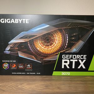 GIGABYTE RTX3070 Gaming OC Brand New Unopened Ready To Sell for Sale in Bothell, WA