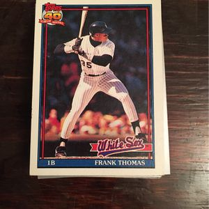 Chicago White Sox Baseball Cards for Sale in Morganton, NC