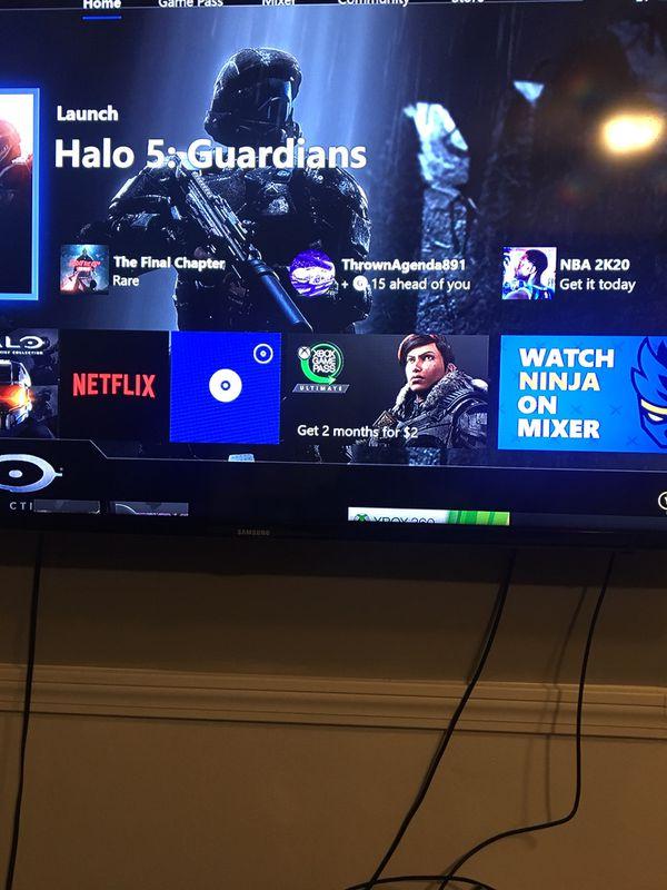 Xbox one x 1t