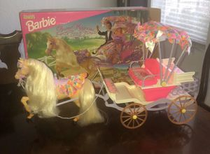Barbie Sweet Magnolia Horse & Carriage for Sale in Davie, FL