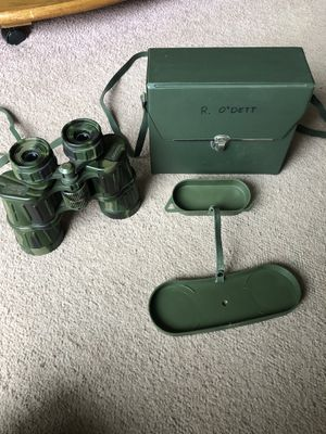 Tasco 223CRZ 10x50 binoculars with case for Sale in Cheshire, CT